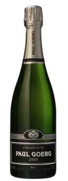 Champagne Goerg - 1er Cru Vertus - Millésime 2005 - Blanc de Blancs