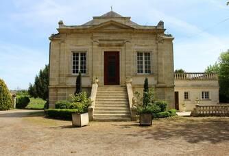 vue sur le Château Laronde