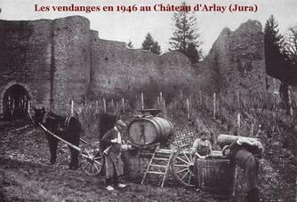 Photo d'archives du Château d'Arlay
