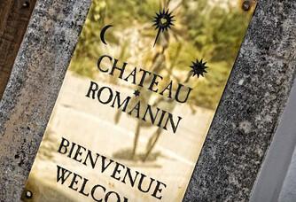 L'entrée du Château Romanin
