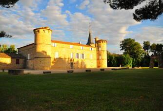 Une autre vue du Château de Jonquières