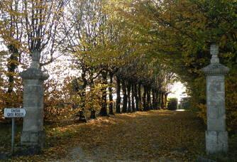 Entrée du Château Gros-Moulin