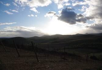 Vue sur l'horizon au Domaine Cottebrune