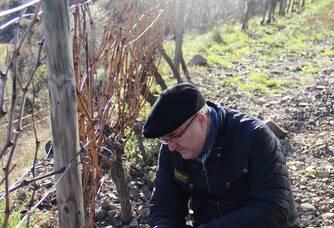 Gilles Ferran, vigneron du Domaine des Escaravailles