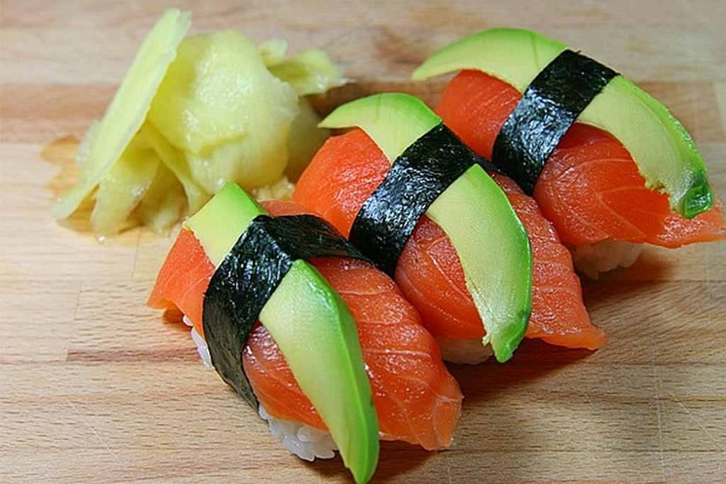 Vins et sushis